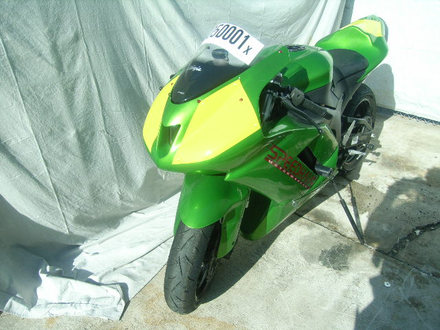 2007 Kawasaki ZX6R Race Bike