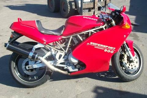 1993 Ducati 900SS SuperLight